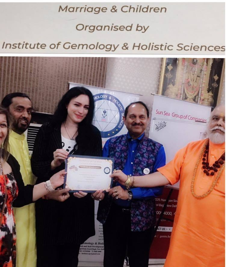 Organised by institute of Gemology & Holistic Sciences